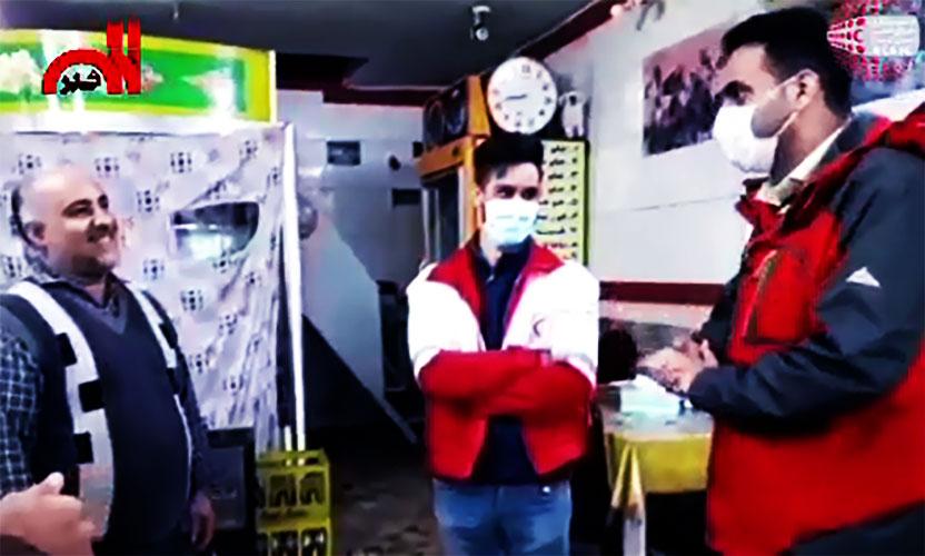 فیلم| پدرانه جمعیت هلال احمر آستانهاشرفیه