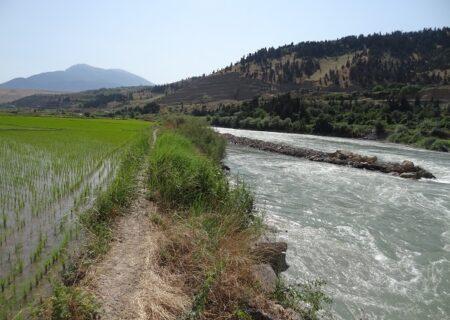 ۴ هکتار از اراضی بستر رودخانه سفیدرود رفع تصرف شد