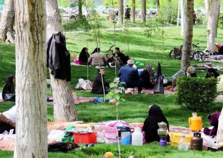 ورود به بوستانهای گیلان در روز طبیعت ممنوع
