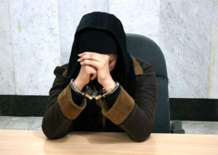 زن قاچاقچی با ۴ کیلو شیشه دستگیر شد