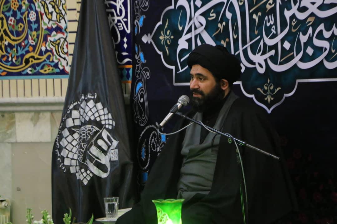 فیلم| مراسم شهادت امام موسی کاظم (ع) در آستان سید جلالالدین اشرف