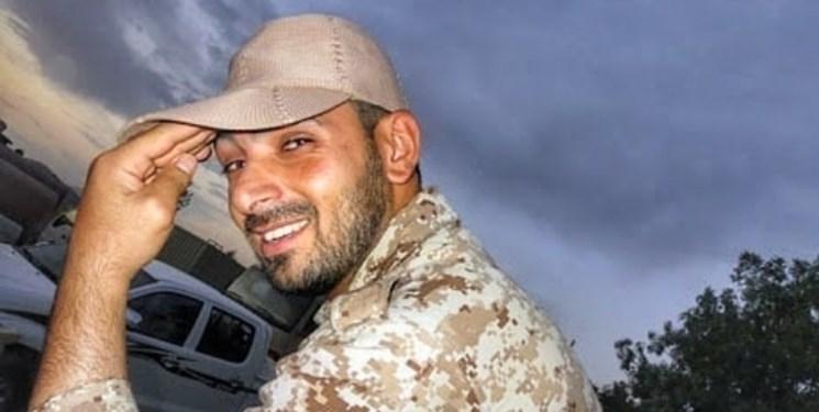 مدافع حرمی که کاپشنش زودتر ترکش خورد
