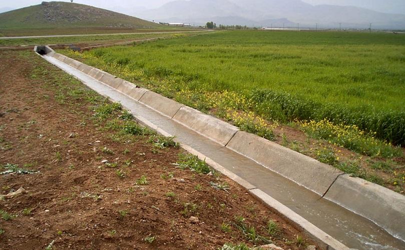 کاهش کانالهای آبیاری در گیلان