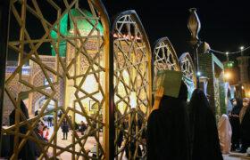 عکس| احیای شب دوم قدر در حرم سلطان سید جلالالدین اشرف