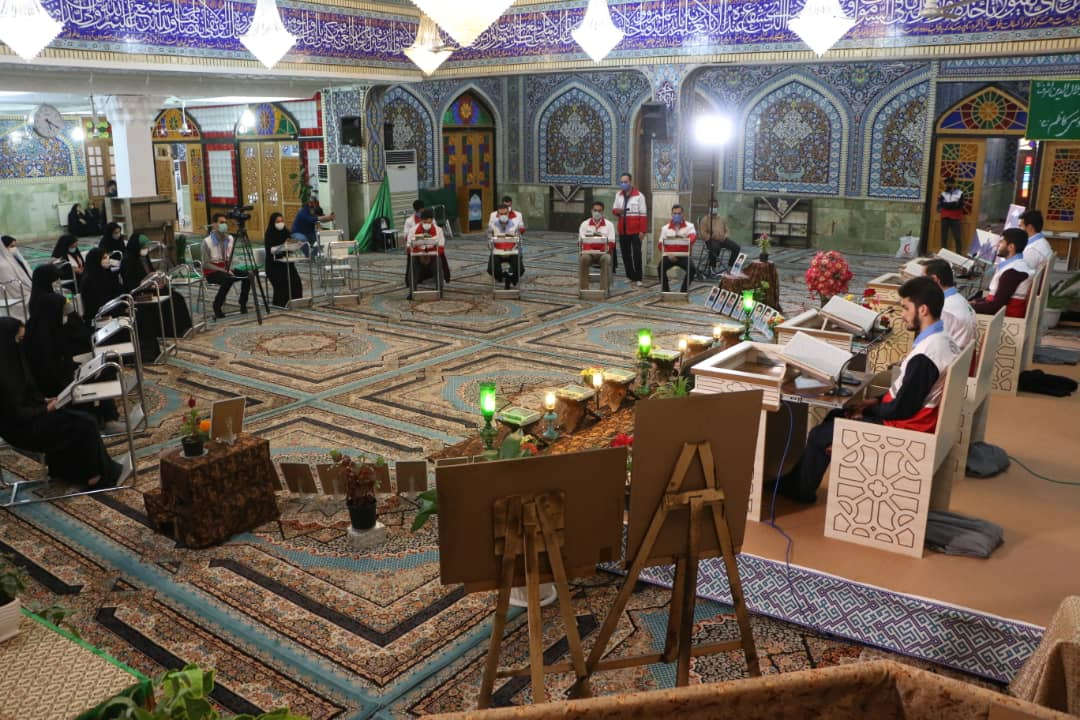فیلم| دورخوانی قرآن امدادگران جمعیت هلال احمر آستانهاشرفیه در دیار سلطان