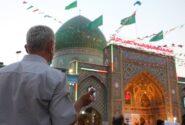 فیلم| جشن میلاد امام رضا (ع) در دیار سلطان