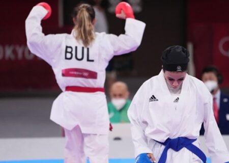 سارا بهمنیار از مدال المپیک باز ماند