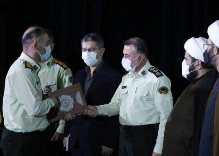 فرمانده جدید نیروی انتظامی شهرستان آستانهاشرفیه منصوب شد