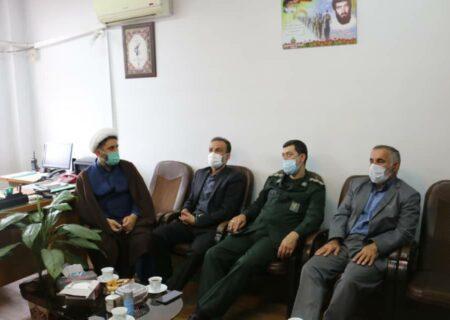 رئیس مجمع نمایندگان گیلان با فرمانده سپاه ناحیه آستانهاشرفیه دیدار کرد